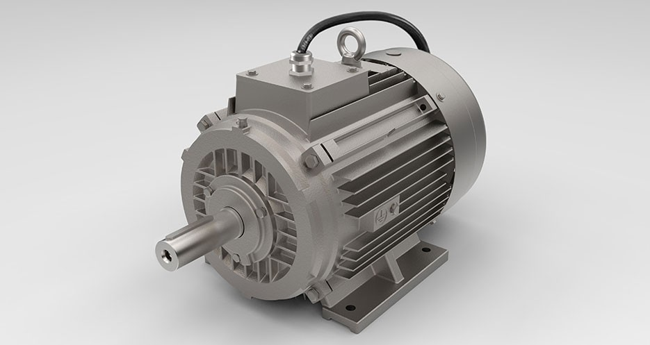 Smoke extraction motors