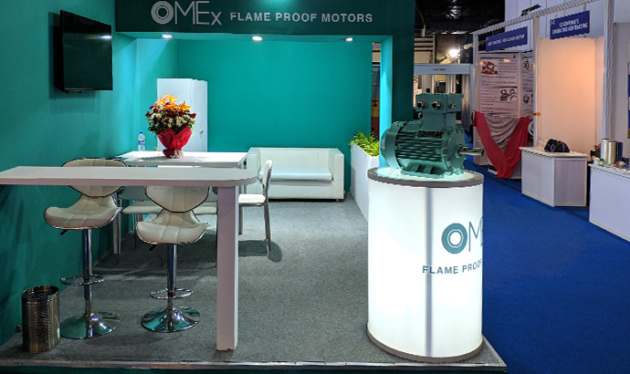Oil & Gas World Expo Mumbai 2020: OME Motors was present at the fair in India